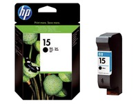 Cartridge HP 15 zwart