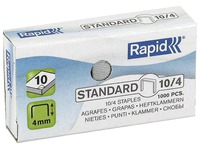 Box von 1000 Heftklammern Rapid n° 10 galvanisiert