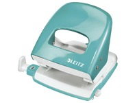 Perforator Nexxt metal Leitz Wow - capacity 30 sheets - mint green