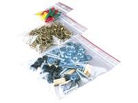 Sachet transparent Minigrip à fermeture Zip 60 x 80 mm - Carton de 1000