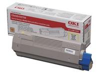 Toner Oki 4387230x aparte kleuren voor laserprinter