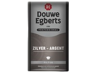 Pack of 250 g Douwe Egberts ground coffee 80% Arabica - 20% Mocha (silver)
