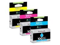 14N0850 LEXMARK PRO905 TINTE (3) CMY HC (170035440170)
