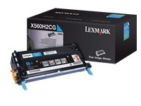 X560H2CG LEXMARK X560 CARTRIDGE CYAN (1388239)