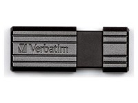 USB stick Verbatim Pinstripe 64 Gb zwart