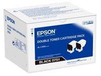 C13S050751 EPSON ALC300 TONER (2) BLACK