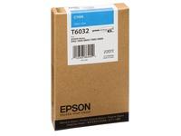 Epson T6032 - cyaan - origineel - inktcartridge (C13T603200)