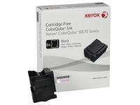 Xerox ColorQube 8870 - 6 - zwart - vaste inkten