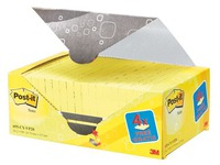 Pack de 16 + 4 Notes Post-it jaune 76 x 127 mm