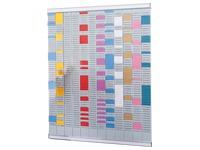 Standaard multifunctionele planning 12 kolommen Nobo