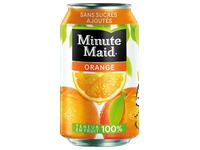 Pak 24 blikjes Minute Maid orange 33 cl