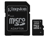 Kingston - flashgeheugenkaart - 32 GB - microSDHC
