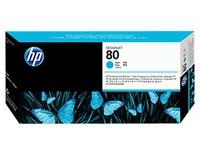 HP - cyaan - printkop met reiniger (C4821A)