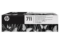 HP 711 - zwart, geel, cyaan, magenta - printkop (C1Q10A)