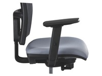 Pair of 1D armrests for chair Bruneau Activ'