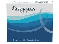 Small ink cartridges for Waterman fountain pens - Box of 6