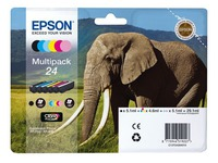 Epson 24 Pack cartridges 6 kleuren