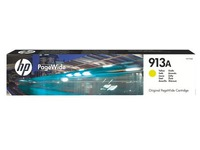 HP 913A Cartridge geel voor inkjetprinter