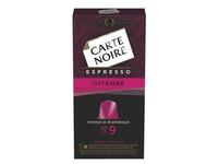 Kapseln Carte Noire Intense n°9 - Schachtel von 10