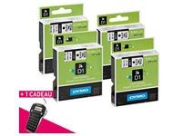 Pack 4 linten Dymo D1 + 1 Etiketteertoestel LM 160 gratis