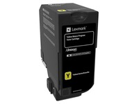74C20Y0 LEXMARK CS720 TONER YELLOW ST