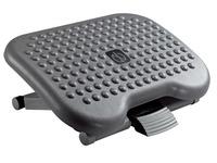 Multipositionierbare Fußbank mit Massageflocken