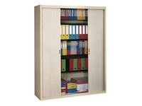 High tambour cabinet dismountlable specific width 200 x 160 cm