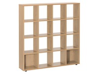 Bookcase Intuitiv 16 compartments