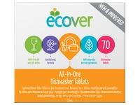 Doos 1,4 kg vaatwastabletten Ecover All in 1