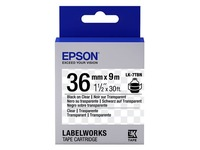 Epson LabelWorks LK-7TBN - etikettape - 1 rol(len) (C53S657007)
