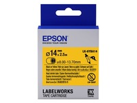 Epson LabelWorks LK-6YBA14 - buis - 1 rol(len) (C53S656905)