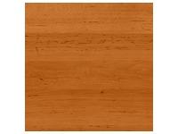 Bureaux droits Quarta Plus L 140 x P 80 cm aulne piétement plein bois