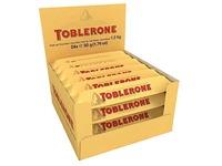 Chocoladereep van melkchocolade met nougat, honing en amandel - 50 g