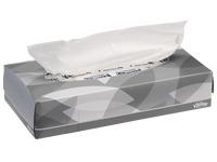 Doos met 100 witte zakdoekjes Kleenex