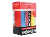 Amsterdam acrylverf tube van 120 ml, set van 5 tubes in primaire kleuren