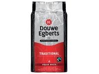 Douwe Egberts, fairtrade koffie voor automaten, pak van 1 kg