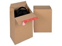 Colompac Eurobox Size M, binnenformaat 294 x 194 x 387 mm, bruin