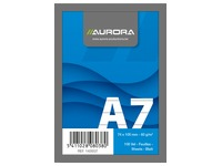 Notepad Aurora A7 75 x 105 mm lined 100 sheets
