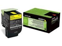 Lexmark 80C2SY toner yellow for laser printer