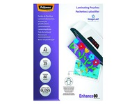 Box with 25 laminating sleeves A4 2 x 80 Fellowes