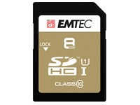 Geheugenkaart SDHC 8 GB - klasse 10