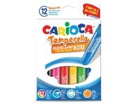 Carioca stick gouache Temperello, étui cartonné de 12 pièces