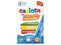 Carioca stick gouache Temperello, étui cartonné de 6 pièces