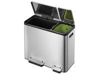 EKO Ecocasa poubelle à pédale 30 + 15l