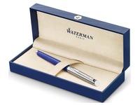 Waterman stylo plume Hémisphère Deluxe Blue Wave avec détail en palladium