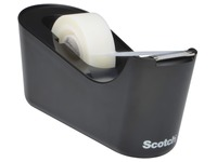 Scotch verzwaarde plakbandafroller inclusief 1 rol Scotch Magic Tape, zwart