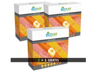 Pack of 2 boxes ecological diswashing tablets Ecover + 1 box for free