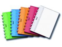 Cahier Adoc A5 colorlines ligné PP assorti