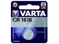 Pile bouton Varta CR1616 lithium