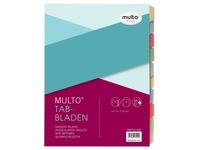 Jalema Multo Economy intercalaires ft A4, perforation à 2, à 4 et à 23 trous, couleurs assorties par jeu